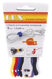 Lux Cable Tie 1.2x20 Colorful 5pcs
