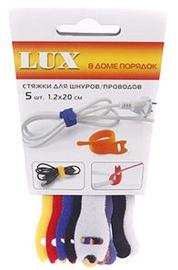 Lux Cable Tie 1.2x20 Colorful 5pcs
