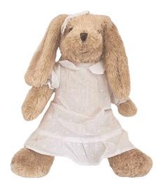 Beppe Plush Rabbit Rosalie In White Dress 35cm 13245