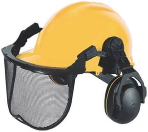 McCulloch Universal Helmet with Hearing Protectors