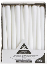Pap Star Candle 50PCS White