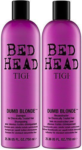 TIGI Bed Head Dumb Blonde Shampoo 750ml + Conditioner 750ml