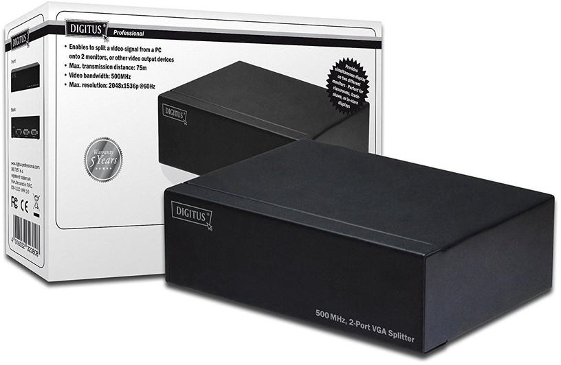 Digitus VGA Splitter 2-port DS-41110
