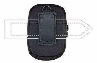 Esperanza ET137 Universal Case For Digital Camera Black/Silver