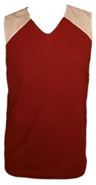 Bars Mens Basketball Shirt Red/White 181 M