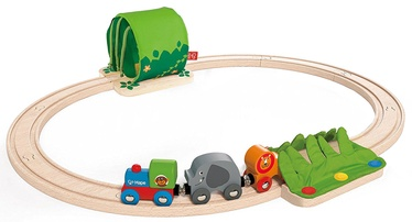 Hape Jungle Train Journey Set E3800