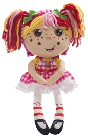 Flip Zee Girls Zana Strawberry Sweet & Cuddly 2-In-1 Plush Doll