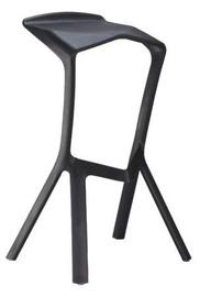 Baro kėdė Signal Meble Volt Black, 1 vnt.