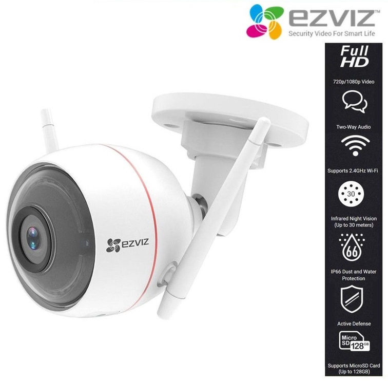 Ezviz C3W Color Night Vision Camera White