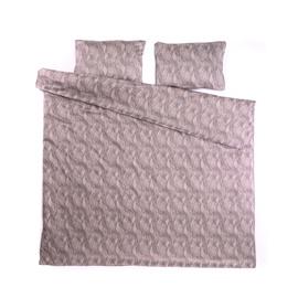 Комплект постельного белья Domoletti 44407, фиолетовый/песочный, 200x220