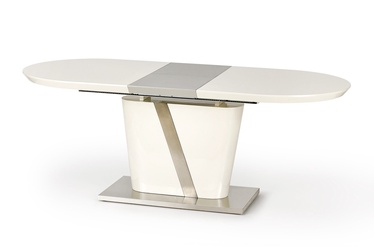 Valgomojo stalas Halmar Iberis Cream Gray, 1600x900x760 mm