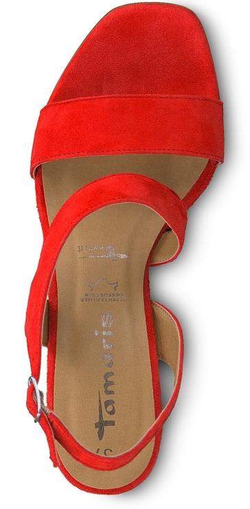 Basutės Tamaris Pam Healed Sandal 1-1-28385-22 Coral 38