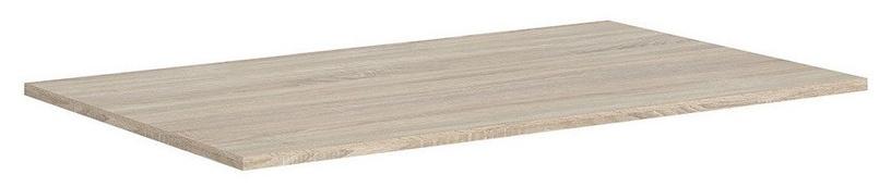 Black Red White Vario Modern Table Top 140x80cm Sonoma Oak