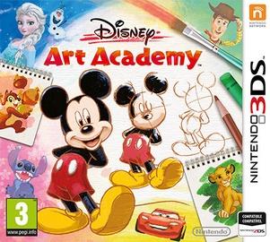 Игра Nintendo 3DS Disney Art Academy