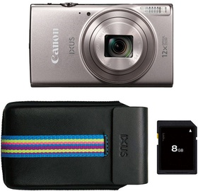 Canon IXUS 285 HS Silver Essential Kit
