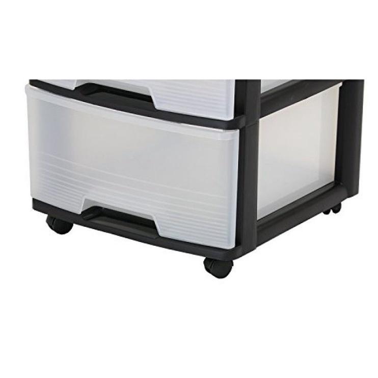 Curver Drawer System 20l Black/Transparent