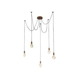 Pakabinamas šviestuvas Trio Cord 310100562, 5 x 60 W, E27