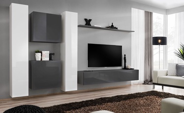ASM Switch VI Wall Unit White/Graphite