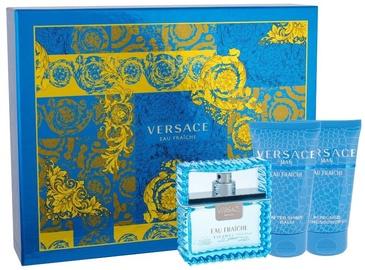 Versace Man Eau Fraiche 50ml EDT + 50ml Shower Gel + 50ml After Shave Balm New Desgin