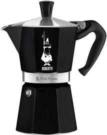 Bialetti Moka Express Stovetop Espresso Maker Black 6 Cups
