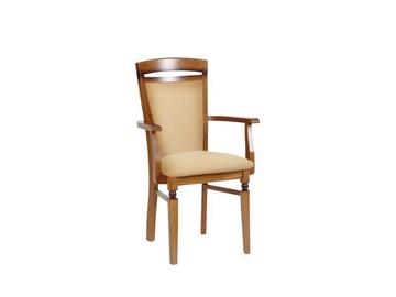 Valgomojo kėdė Black Red White Bawaria P Walnut/Brown