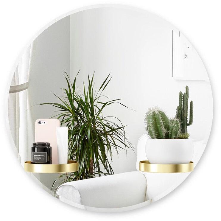 Peegel Umbra Perch Wall Mirror, 61 cm x 61 cm