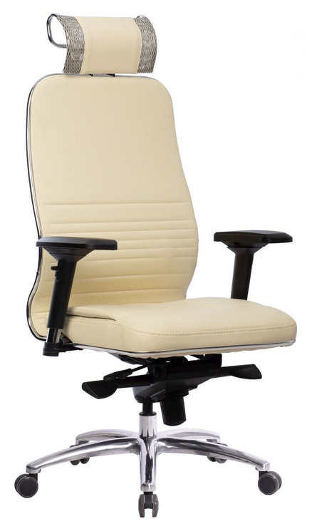 MN Samurai KL-3.04 Leather Office Chair Beige