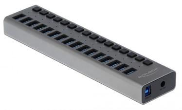 Delock External USB 3.0 Hub w/16 Ports + Switch