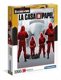 Puzle Clementoni Netflix La Casa De Papel 39532, 1000 gab.
