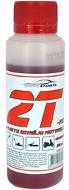 AutoDuals 2T-mix Semi-Synthetic Oil Red 0.1l