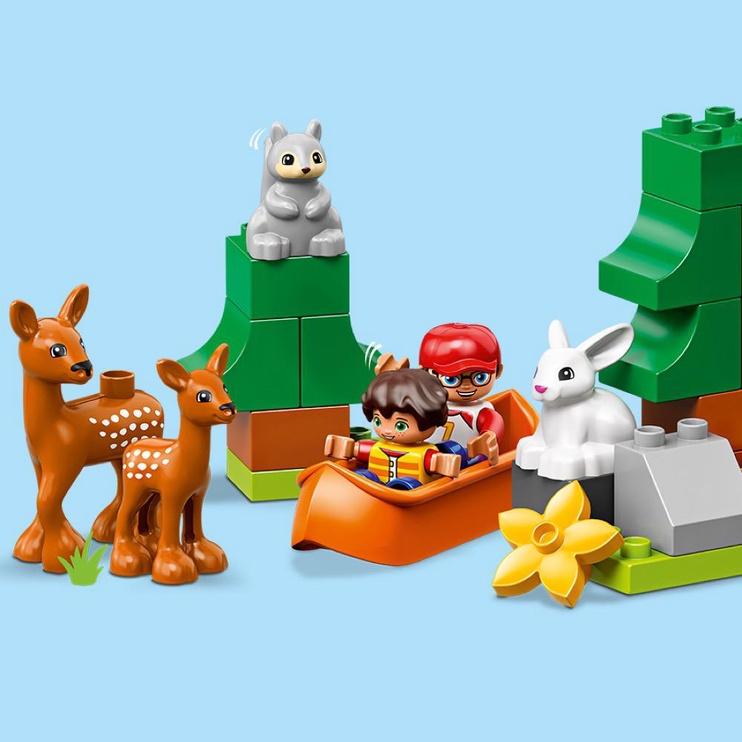 Конструктор LEGO Duplo Животные мира 10907, 121 шт.