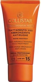 Collistar Self Tan Anti Wrinkle Tanning Face Treatment SPF15 50ml