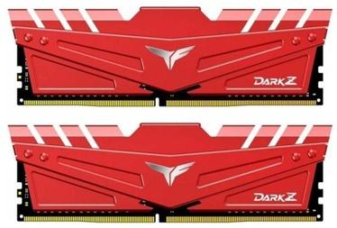 Team Group T-Force Dark Z Red 16GB 2666MHz CL15 DDR4 KIT OF 2 TDZRD416G2666HC15BDC01