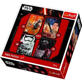 Trefl Star Wars The Force Awakens 4-in-1 Puzzles 34263