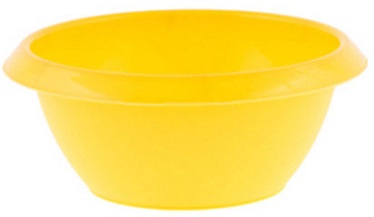 Bentom Plastic Bowl 4l Yellow Beige