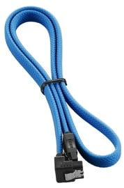 CableMod ModMesh Right Angle SATA 3 Cable 60cm Light Blue