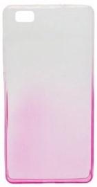 Mocco Gradient Back Case For Samsung Galaxy J3 J330 Transparent/Pink