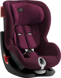 Britax King II Black Series Burgundy Red