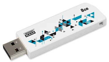 Goodram CL!CK 8GB USB 2.0 White