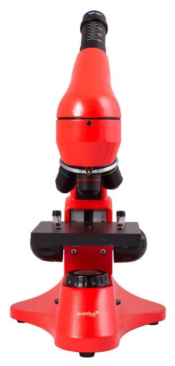 Levenhuk Rainbow 50L Plus Microscope Orange