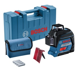 Lazerinis nivelyras Bosch GLL 3-80, raudonas