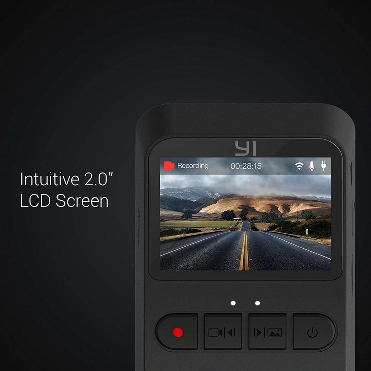 Xiaomi Yi Mini Dash Camera Black