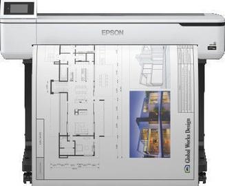 Tindiprinter Epson SureColor SC-T5100, värviline