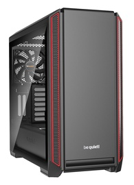 Be quiet! PC Case Silent Base 601 Window Red