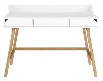 Bellamy Writing Desk Lotta Oak White