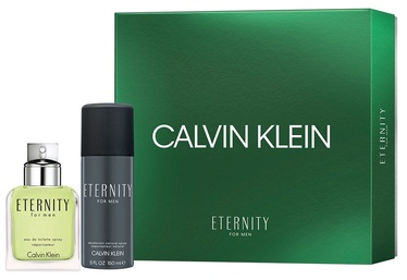 Набор для мужчин Calvin Klein Eternity 100 ml EDT + 150 ml Deodorant