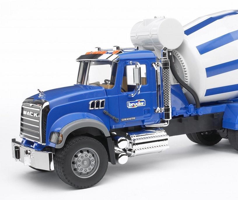 Bruder Mack Granite Cement Mixer 02814