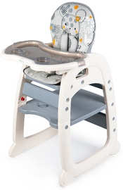 EcoToys Seat 2in1 Feeding Chair Grey