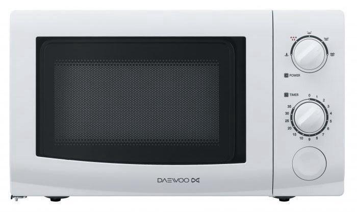 Mikrobangų krosnelė Daewoo KOR-6617W