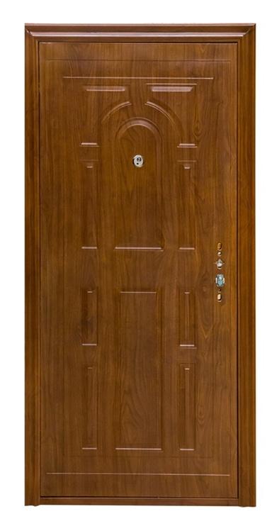 Plieninės vidaus durys JC-SW005, ąžuolo, kairinės, 96x205 cm